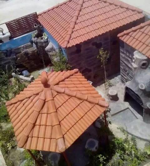 تركيب القرميد على الاسطح