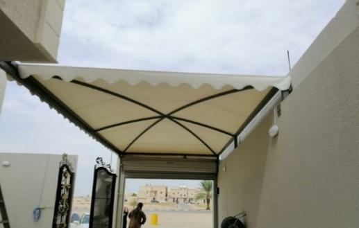 مظلات فوق الأبواب مظلة مداخل البيوت - الفلل - الشركات